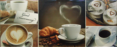 Home 2 Coffee Heart Декор 200*500